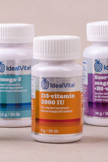 IdealVital vitaminok